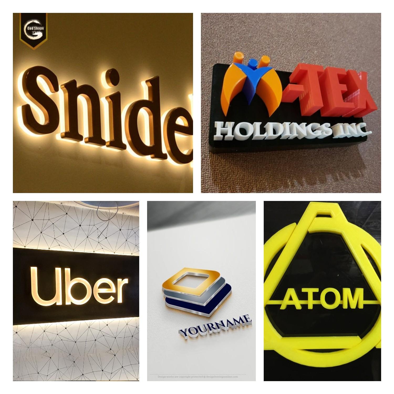 3D printer in making advertising signs